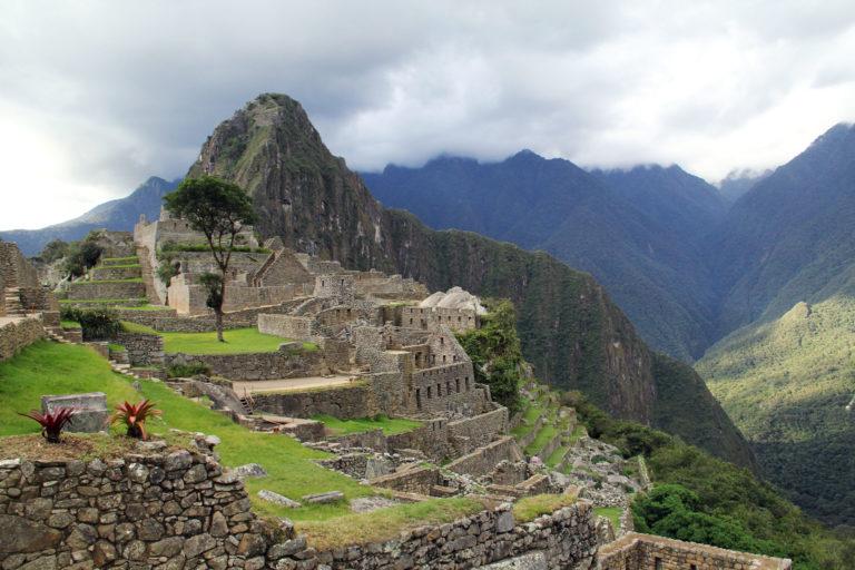 El poblado de Machu Pichu