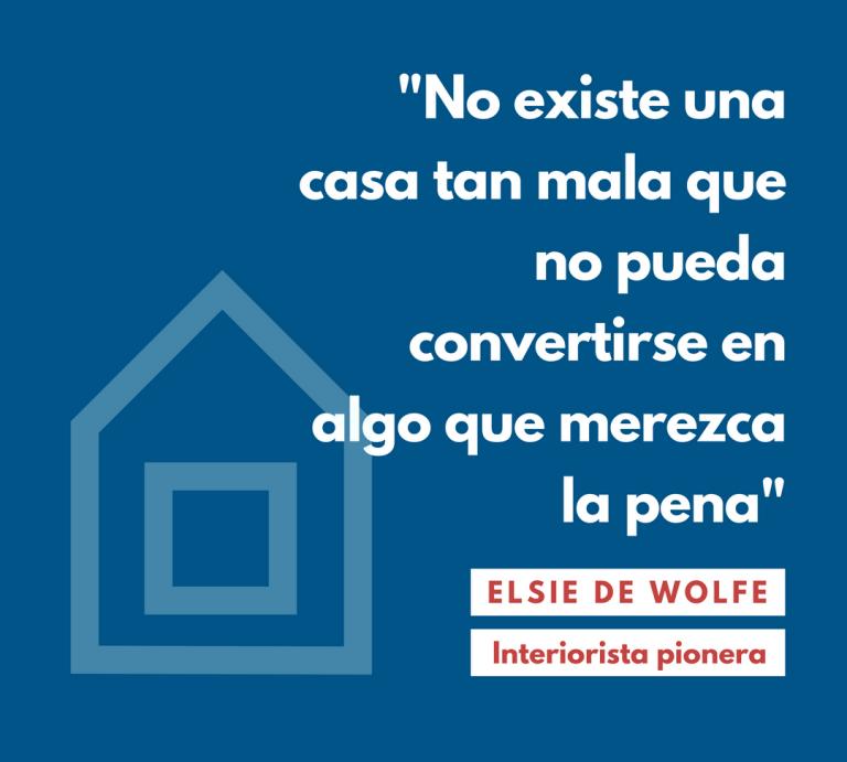 No existe una casa tan mala que no pueda convertirse en algo que merezca la pena