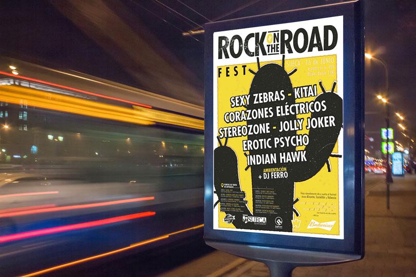 carteleria rock road