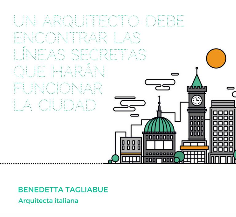 un arquitecto debe encontrar las líneas secretas que harán funcionar la ciudad